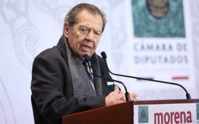 """""""No nos han ganado, la encuesta fue hecha al margen de la ley"""", dice Muñoz Ledo y pide rechazar resultados"""