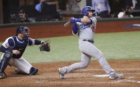 Los Dodgers aventajan 2-1 a los Rays en la Serie Mundial.