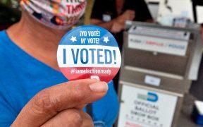 Arranca votación anticipada en persona en Los Angeles