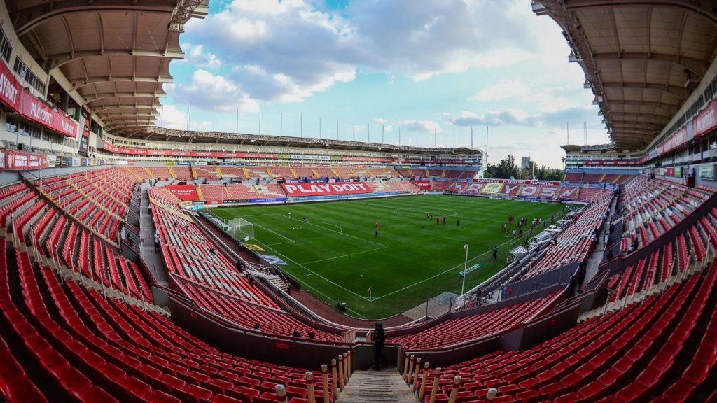 El Necaxa volverá a jugar sin aficionados, en su duelo ante Toluca, por el repunte de COVID-19.