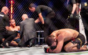 Nurmagomedov anunció su retiro tras vencer a Gaethje en UFC 254.