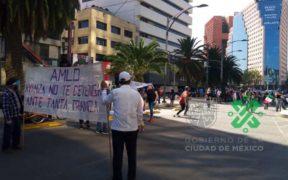 """La """"Marcha del Millón"""" reúne a 5 mil 700 simpatizantes de AMLO"""