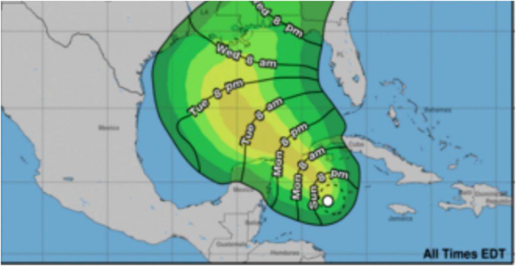 Se forma depresión tropical en el Caribe; amenaza con convertirse en huracán 'Zeta'