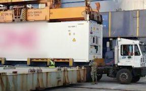 FGR y Semar decomisan en Baja California precursores químicos enviados desde China para elaborar fentanilo