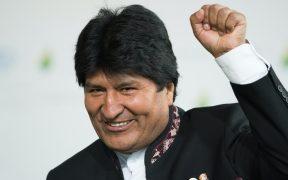 Evo Morales llega a México para participar en seminario organizado por el PT