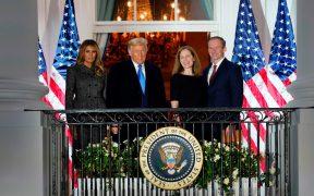 La Carrera Electoral: Trump logra llevar a Barrett a la Corte Suprema