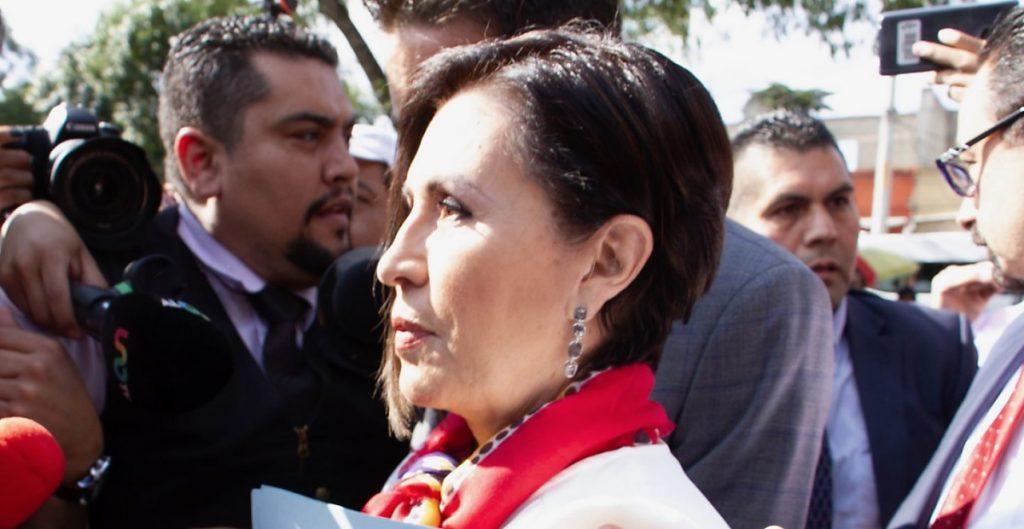 Rosario Robles seguirá en prisión; juez rechaza suspender proceso en su contra