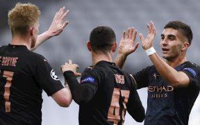 El Manchester City resolvió con una goleada su visita al Marsella.