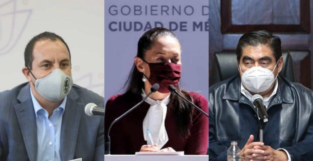Gobernadores de Morena critican postura de aliancistas de romper pacto federal