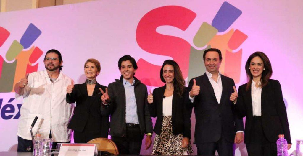 PAN, PRD, PRI y MC aceptan reto de Sí por México; Morena otros 5 partidos no responden