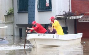 Protección Civil reporta más de 50 mil personas afectados por las lluvias en Tabasco, Veracruz y Chiapas