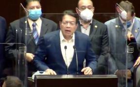 Pese a oposición, Mario Delgado presume logros de Morena en la Cámara de Diputados