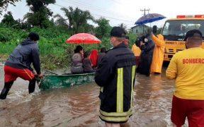 'Eta' toca tierra en el Caribe norte de Nicaragua como huracán de categoría 4