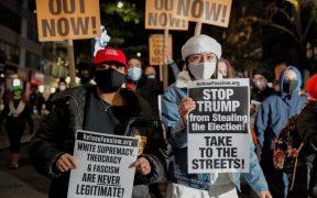 Convocan a protestas en Nueva York contra Trump