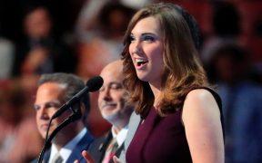 Ella es Sarah McBride, la primera senadora trans en la historia de EU