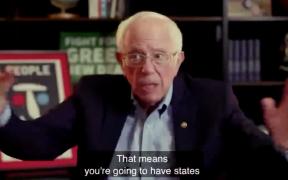 Bernie Sanders anticipó en octubre el cerrado conteo de votos