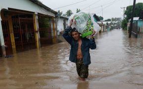 La tormenta tropical 'Eta' deja fuerte lluvias en Honduras