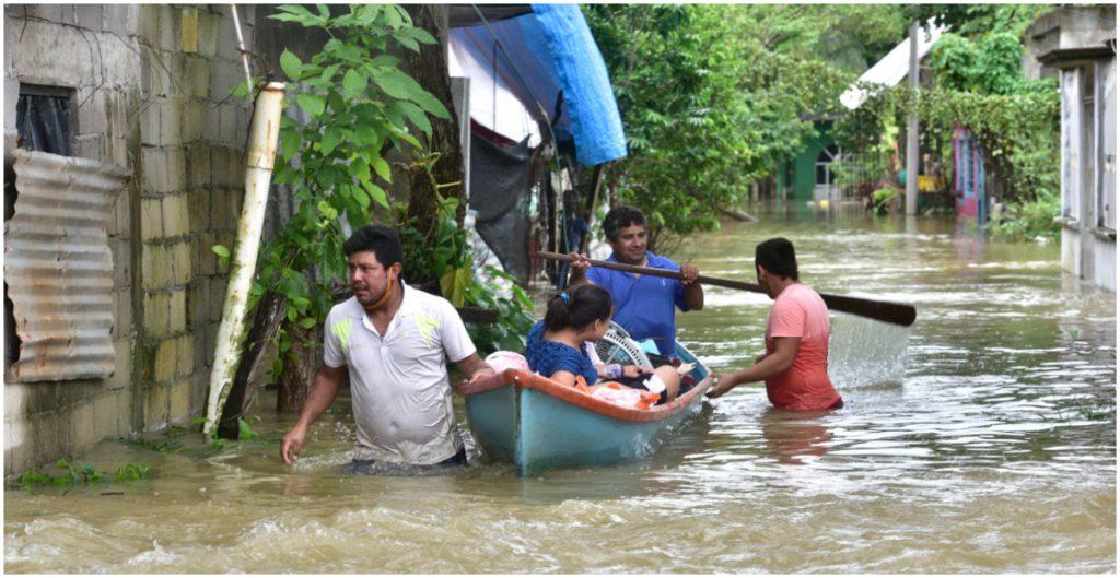 Tabasco afectados por las lluvias