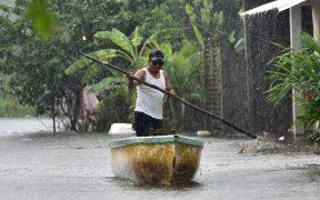 Conagua prevé lluvias intensas en cinco estados; alertan por posibles deslaves e inundaciones