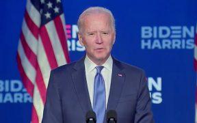 Vamos a ganar esta carrera, la gente ha hablado y los números lo dicen: Biden