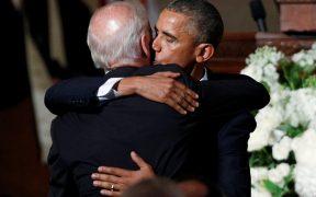 """Obama felicita a Biden por su victoria; """"no podría estar más orgulloso"""""""