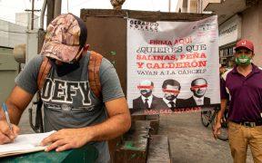 Morena presentó firmas de 194 fallecidos para la consulta popular para juzgar a expresidentes