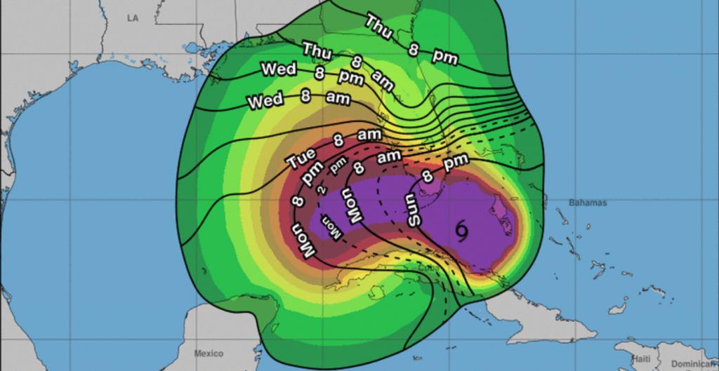 'Eta' enfila hacia Florida, EU, donde llegará como huracán