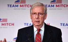 Mitch McConnell asegura que Trump tiene todo el derecho a presentar demandas