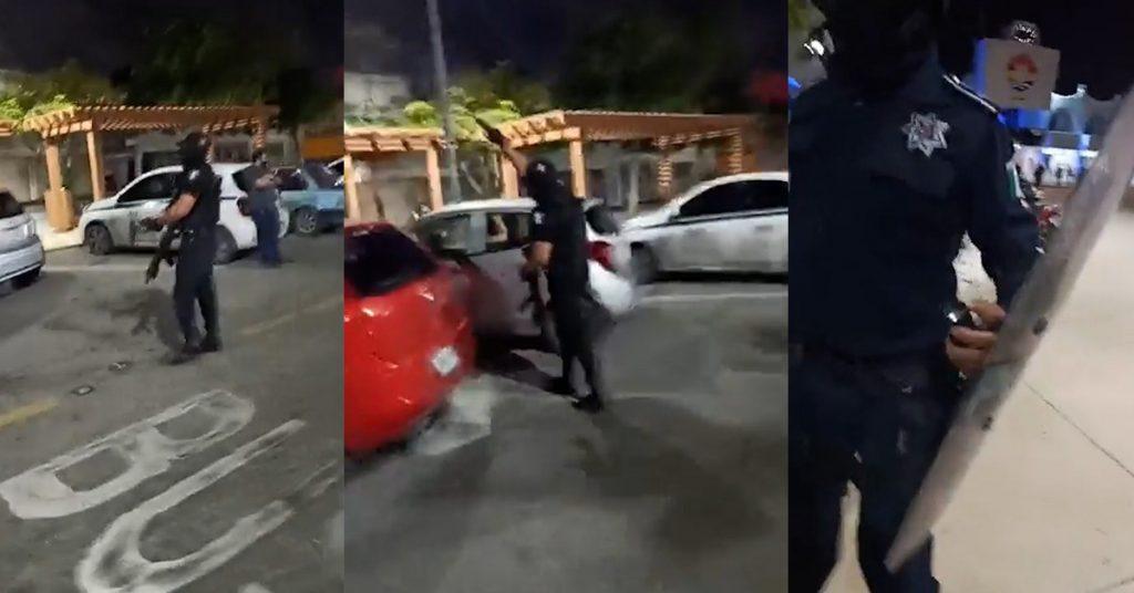 Dispersan con disparos al aire la protesta por feminicido de Alexis en Cancún