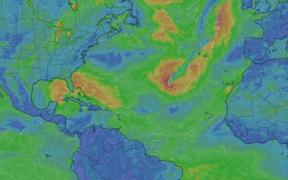 Se forma la tormenta Theta en el Atlántico