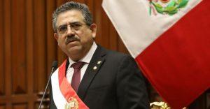 Manuel Merino jura como presidente de Perú, tras destitución de Martín Vizcarra