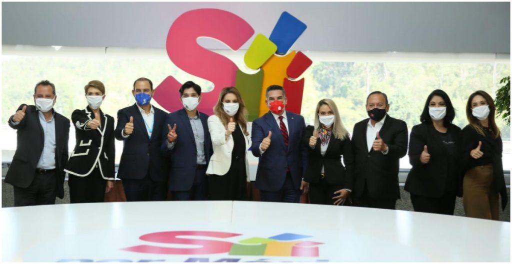 PAN, PRI y PRD pactan con Sí por México rumbo a elecciones de 2021