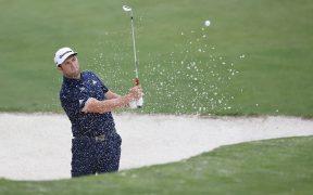 Rahm consiguió el extraordinario hoyo en uno en la práctica del Masters de Augusta.
