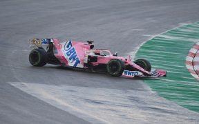 'Checo' Pérez lidió con la pista, pero aseguró salir tercero en el GP de Turquía.