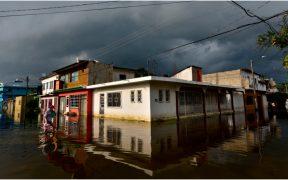 Protección Civil reporta 160 mil afectados por las inundaciones en Tabasco