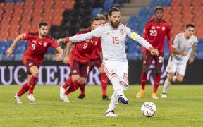 Sergio Ramos, generalmente un excelente cobrador de penaltis, falló dos ante Suiza.