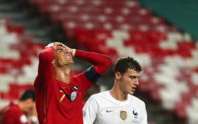 Cristiano Ronaldo lamenta la derrota de Portugal ante Francia en la Liga de Naciones.
