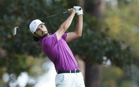 El mexicano Abraham Ancer terminó en segundo lugar tras la tercera ronda del Masters de Augusta.