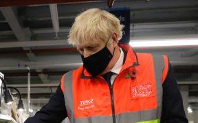 Boris Johnson se aísla tras estar en contacto con un caso pocitivo de Covid