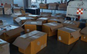 Frenan ingreso ilegal de 10 mil pruebas de Covid en aduana de Guadalajara