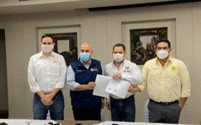PRD, PAN y PRI firman carta de intención para ir en alianza en Baja California en el 2021