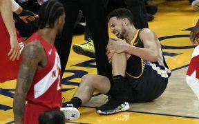 Klay Thompson se vuelve a perder una temporada con los Warriors tras caer lesionado del talón de Aquiles.