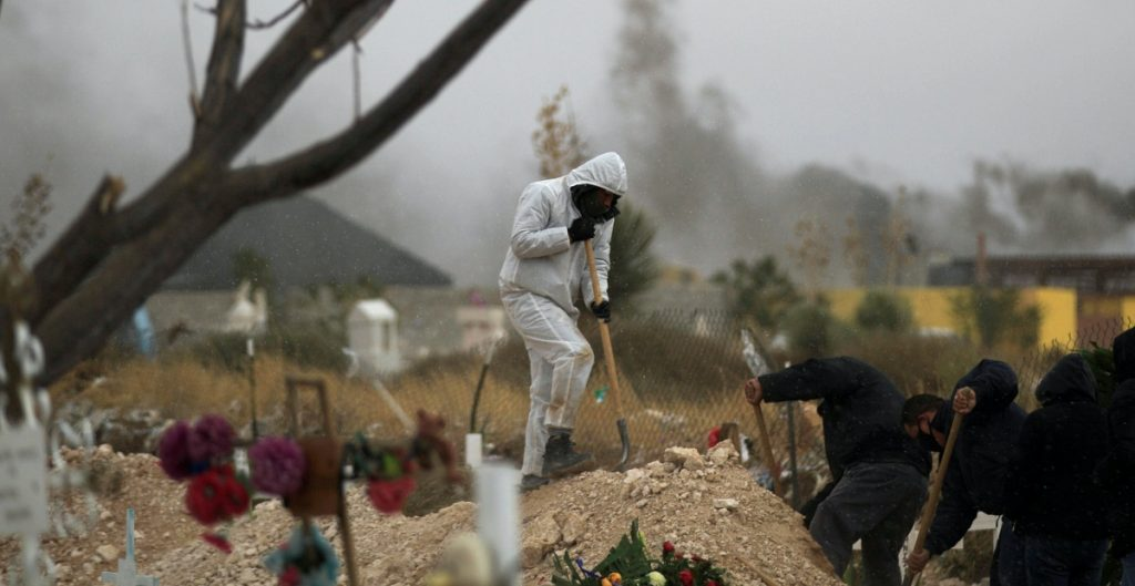Muertes por Covid-19 en México