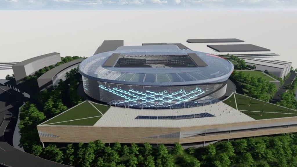 El estadio de Tlalnepantla podría ser la nueva casa de Cruz Azul.