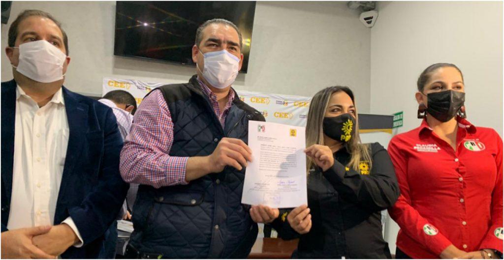 PRI y PRD se unen en Nuevo León para las elecciones del 2021; dejan solo al PAN