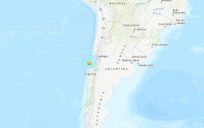 Sismo de 6.2 sacude el centro de Chile; no hay alerta de tsunami