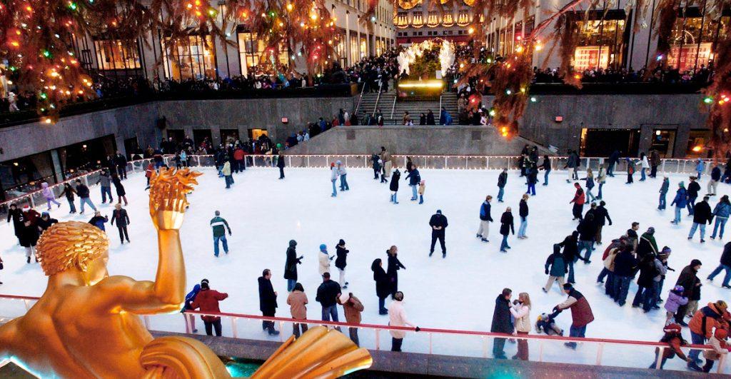 Abre la pista de hielo del Rockefeller Center de forma limitada por Covid-19