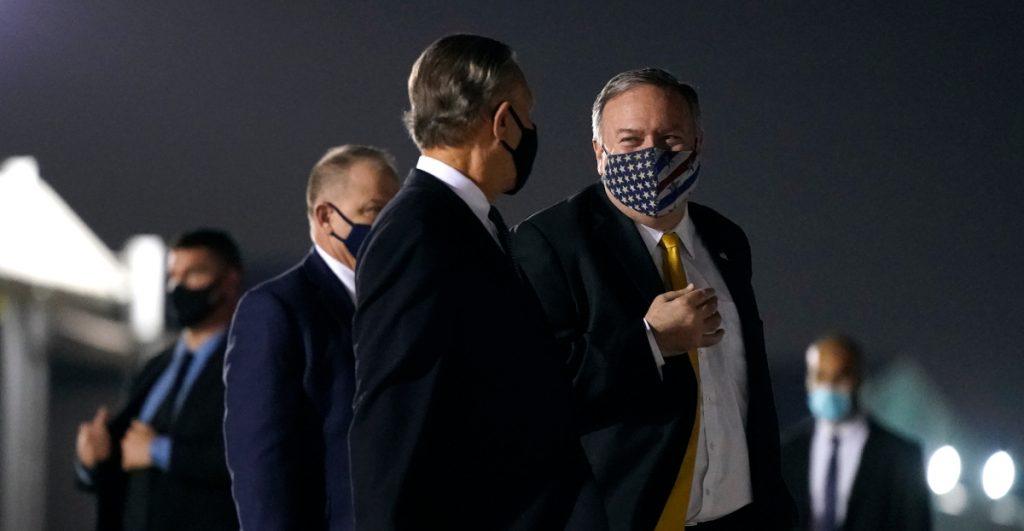 Pompeo defiende política de Trump sobre Irán