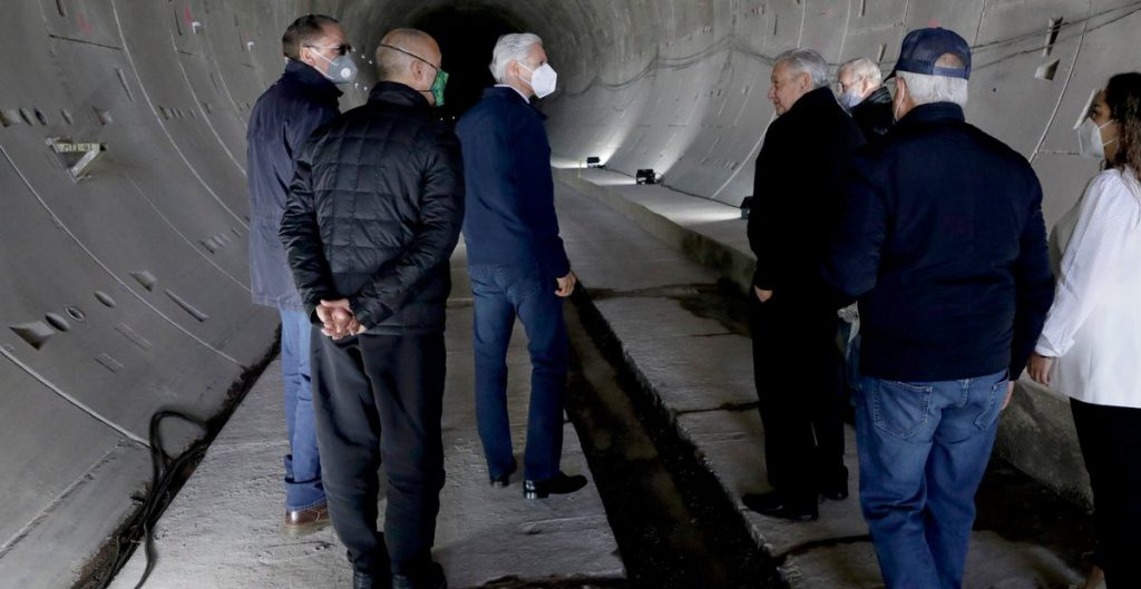 AMLO retoma compromiso de campaña de construir tren Chalco-CDMX
