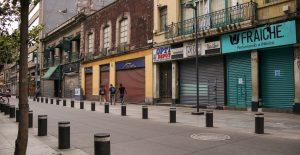 En riesgo de cerrar, 35 mil empresas en la CDMX por la pandemia: Coparmex